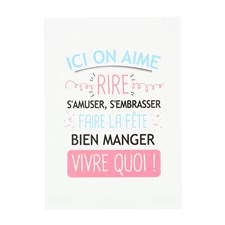 Carte Ici on aime rire