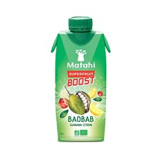 Boisson baobab guarana citron