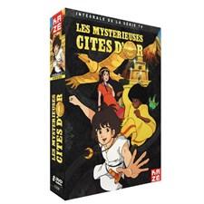 Coffret DVD Les Mystérieuses cités d'or