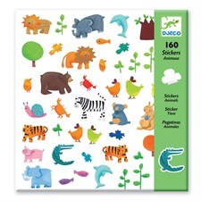 160 stickers animaux