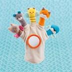 Gant marionnette Galopins coton bio*
