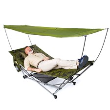 Hamac lit de camp nomade