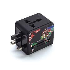 Adaptateur universel 2 ports USB