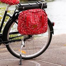 Sac fleurs pour vélo