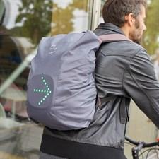 Poncho de sac avec panneau indicateur