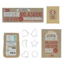 Kit de fabrication biscuit de Noël