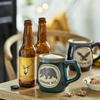 Coffret bière Volcelest et 2 mugs