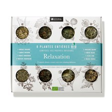 Coffret plantes bio infusions relaxation