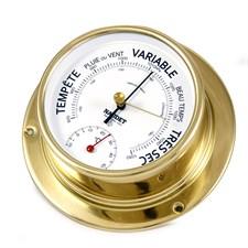 Baromètre-thermomètre naudet ø100mm