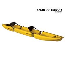Kayak modulable snap tandem