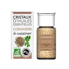 Cristaux d'huiles essentielles coriandre