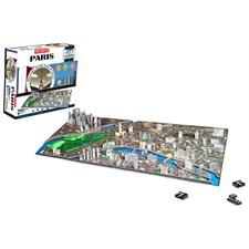 Puzzle paris 4d cityscape - jeu de const