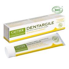 Dentargile citron - dentifrice bio pour
