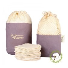 Kit eco belle trousse coton bio biface -
