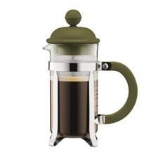 Cafetière piston 3 tasses vert 0,35l